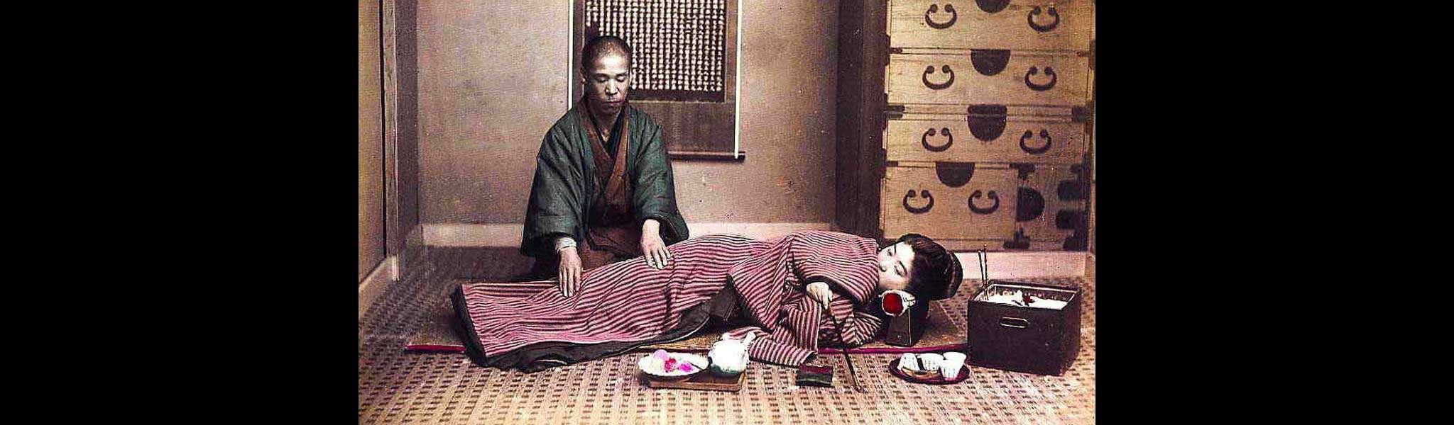 Antica cura del massaggio